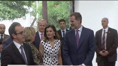 Culmina visita de los reyes de España en San Antonio