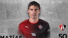 Matías Alustiza es nuevo jugador del Atlas