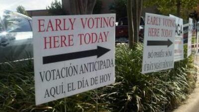 Inició la votación anticipada para las elecciones de noviembre