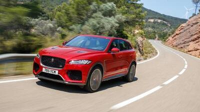 Probamos la nueva Jaguar F-Pace SVR 2020 y nos mostró que a veces prestigio significa potencia y velocidad