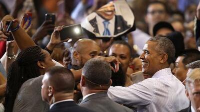 Ocho años después, algunos demócratas siguen prefiriendo a Obama frente a Clinton
