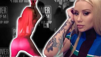 Iggy Azalea da lecciones de 'twerking' en programa de radio