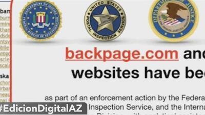 Fundadores de página de internet vinculados con redes de prostitución