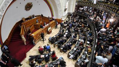 El Parlamento de Venezuela aprueba una ley de amnistía para liberar a presos políticos