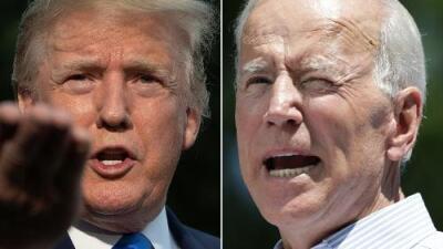 Fuego cruzado en Iowa: Trump, de 73 años, crítica a Biden, de 76, por su edad