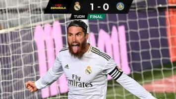 Ramos da vida al Madrid ante Getafe, Barcelona se aleja