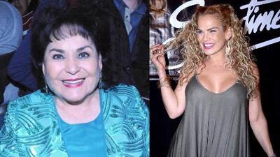 Niurka pide disculpas a Carmen Salinas por sus declaraciones sobre Edith Gonzalez