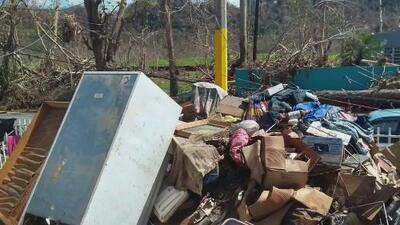 Destruido y abandonado: así está un vecindario de Ciales, Puerto Rico, tras un año y ocho meses del huracán María