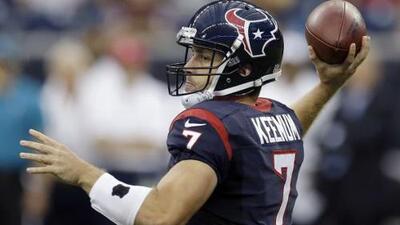 Case Keenum fue cortado por los St. Louis Rams tras adquirir a Mark Barron