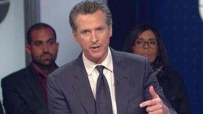 Gavin Newsom es elegido nuevo gobernador de California