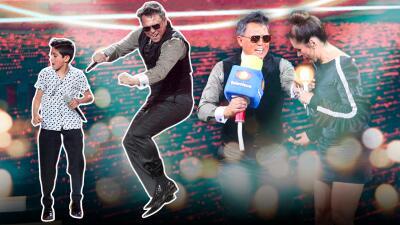 """Un impetuoso """"Luis Miguel"""" pisa Pequeños Gigantes para cantar 'Cuando calienta el sol'"""