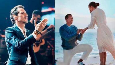 Mr. Exclusiva: Aparentemente JLo canceló su boda y Marc Anthony le dedicó su última canción