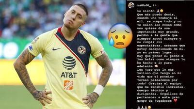 """Nico Castillo ofrece disculpas tras su actuación ante el León: """"Estoy decepcionado de mí"""""""