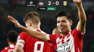 El PSV, con Erick Gutiérrez, venció al RKC Waalwijk