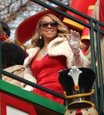 Mariah fue la reina del Thanksgiving y celebró con su ex