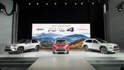 Imágenes de la nueva Toyota RAV4 2019