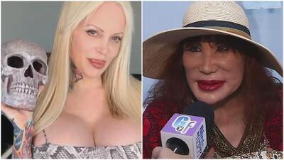 """Sabrina Sabrok advierte a Lyn May tras críticas a sus senos: """"Yo camino de la mano del diablo"""""""