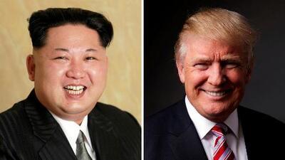 La histórica reunión entre el presidente Trump y Kim Jong-un sería en mayo