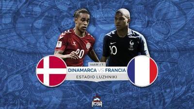 Francia a confirmarse ante una Dinamarca que al menos necesita un empate