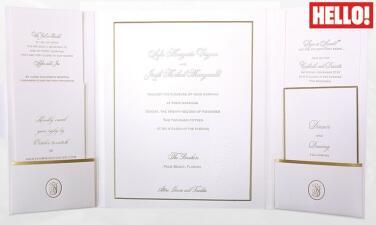 Así es la invitación a la boda de Sofía Vergara y Joe Manganiello