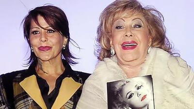 Quieren que Alejandra Guzmán forme parte de la serie biográfica de su madre Silvia Pinal
