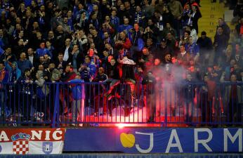 En fotos: Dinamo Zagreb prendió la fiesta contra Benfica en Octavos de Final de Europa League