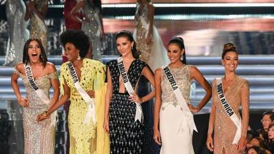 A Miss Colombia la aplaude el presidente Santos y a Miss Venezuela, Osmel Sousa