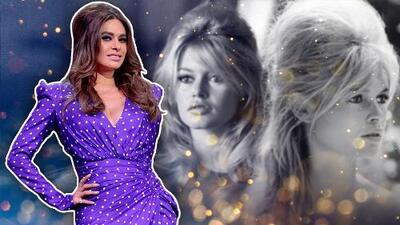 Galilea sorprende con el vestido más largo de la temporada (y al más puro estilo Brigitte Bardot)