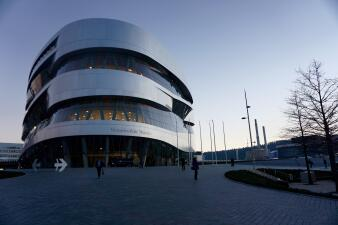 Visitamos el Museo Mercedes-Benz