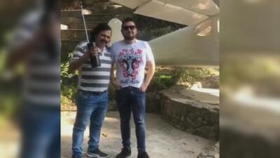 Causa polémica un video que publicó el cantante Roberto Tapia en el que aparece con un imitador de Pablo Escobar