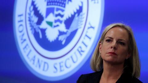 Trump anuncia la renuncia de Kirstjen Nielsen a su cargo de secretaria de Seguridad Nacional