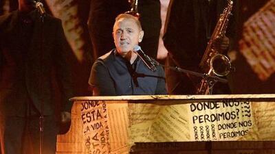 Con lágrimas en los ojos Franco de Vita habla de la dura situación que se vive en Venezuela