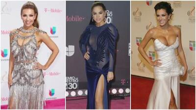 Thalía, Natti Natasha y Ninel Conde: recordamos los 'looks' que marcaron su paso por Premio Lo Nuestro