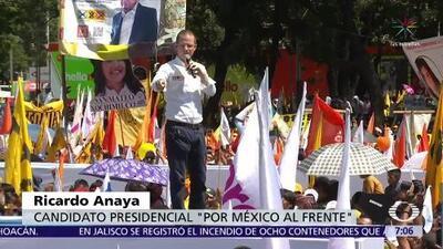 Ricardo Anaya promete investigar a Enrique Peña Nieto por corrupción