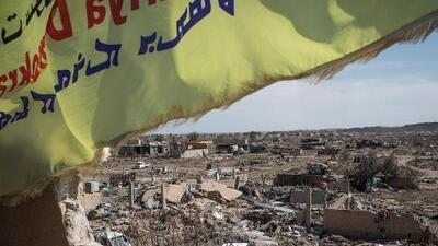 El Estado Islámico fue desalojado de su último baluarte en Siria, asegura un grupo rebelde sirio apoyado por EEUU