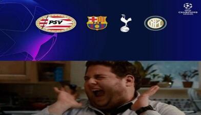 Memes del sorteo de la Champions League: el humor en medio de la fiesta de Europa