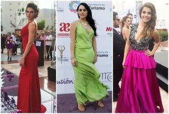 Ellas son las bellezas que desfilaron en la alfombra de los Premios TVyNovelas 2016