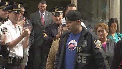 Dan de alta a policía que resultó herido durante una balacera en Washington Heights