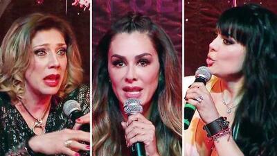 Cynthia Klitbo se pelea con Maribel Guardia y Ninel Conde en plena conferencia de prensa