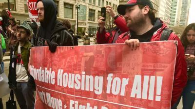 """En fotos: Durante protesta contra proyectos de Lincoln Yards y """"La 78"""", dicen """"Vivienda accesible para todos"""""""