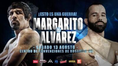 Antonio Margarito contra Ramón 'Inocente' Álvarez confirmada