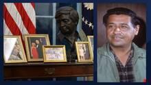 El busto de un Arizonense está en la oficina oval de Joe Biden