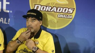 ¿Dónde está Maradona? El técnico argentino no aparece y el Dorados juega este fin de semana