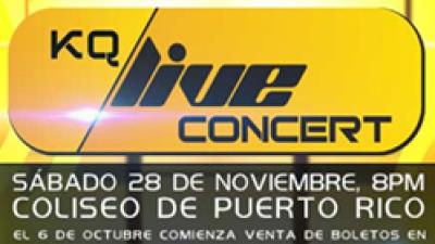 Calentando motores para el KQ Live Concert