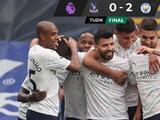 Manchester City vence al Crystal Palace y puede ser campeón este fin de semana