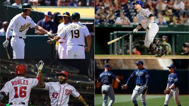 Los protagonistas de la 'cacería' por los dos comodines en MLB