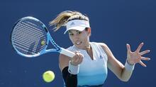 Muguruza y Osaka debutaron en el Miami Open con triunfos