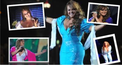 Las inolvidables y pícaras frases de Jenni Rivera sobre  el escenario