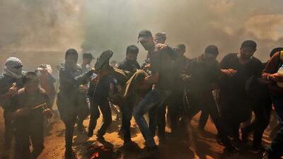 Violencia y muerte en Gaza: así han sido los enfrentamientos tras la nueva embajada de EEUU en Jerusalén