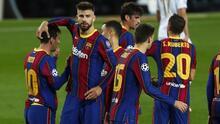 Barcelona confirma cuatro bajas para enfrentar a la Juventus